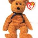 Fuzz The Tan Bear Ty Beanie Baby Retired 1999