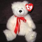 Amore White Love Bear Ty Attic Treasure Retired 2000