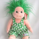 Shenanigan The Green Haired Irish Girl Ty Beanie Kid Retired 2002