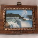 Niagara Falls Canada Wall Decor Plaque Vintage 80's