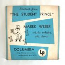 Selections From The Student Prince Columbia Records Marek Weber Orchestra LP Microgroove Album 1949
