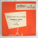 Columbia Records Vintage 1949 Frankie Carle Dance Parade LP Microgroove Vinyl Album Music