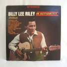 Billy Lee Riley In Action LP Vinyl Record GNP Crescendo Records Promotional Vintage