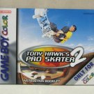 Game Boy Instructional Booklet For Nintendo Tony Hawk's Pro Skater 2