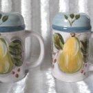 Large Salt And Pepper Shakers Black Forest Fruits Heritage Mint LTD