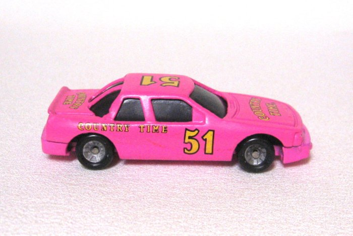 Pink Country Time Diecast Toy Car #51 By Kraft General Foods Rare