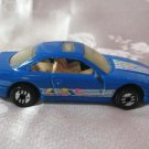 Hotwheels 1990 Blue Diecast Toy Car Sunroof