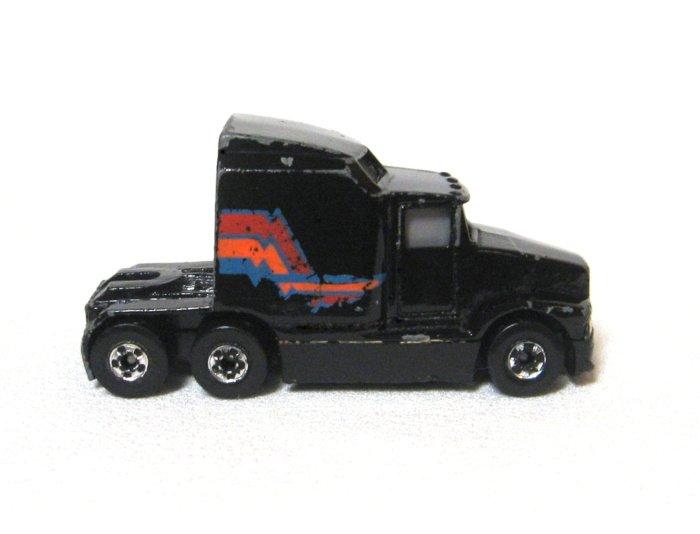 Black Truck 76 Big Rig Diecast By Hotwheels Malaysia 1988