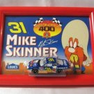 Mike Skinner #31 Nascar Diecast Toy Car & Framed Picture 2001 By Action