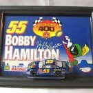 Bobby Hamilton #55 Nascar Diecast Toy Car Framed Picture Monte Carlo 400 Action 2001