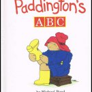 Paddington's ABC By Michael Bond Hardcover Book
