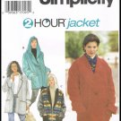 Simplicity 2 Hour Jacket Sewing Pattern No. 9744 Misses Sizes Xsmall Small Medium