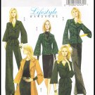 Butterick Lifestyle Wardrobe Sewing Pattern #B5258 Misses Jacket Belt Skirt Pants Sizes 8 to 14
