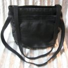 Soft Black Leather Designer Purse Handbag St. John's Bay
