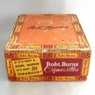 Robt Burns Cigarillos Cigar Box Vintage