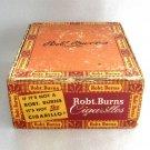 Robt Burns Cigarillos Cigar Box Vintage