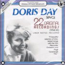 Doris Day Sings 22 Original Recordings Music CD