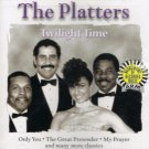 The Platters Twilight Time Music CD