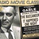 Radio Movie Classics Clark Gable The Buccaneer It Happened One Night Audio Cassettes
