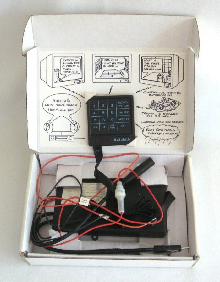 Autotalk The In Car Audio Information System