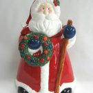 Large Santa Claus Ceramic Cookie Jar Christmas Holiday Hometrends