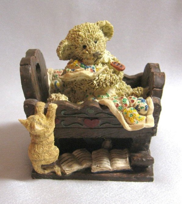 Cottage Collectibles By Ganz Kirby Naptime Bear Figurine