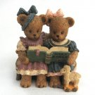 Berry Hill Bears Figurine Sharing The World 1997 Young