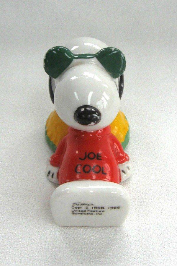Vintage Snoopy Joe Cool Schulz Figurine 1966 Peanuts