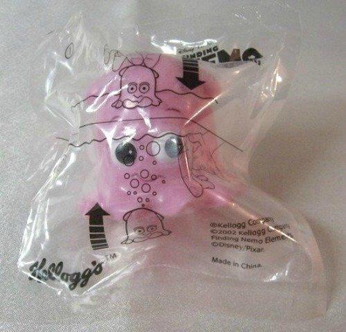 Finding Nemo Collectible Pink Water Toy 2002 Disney Pixar Kelloggs