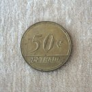 Vintage 50 Cent RTA Portage Park 6 Corners Chicago Token