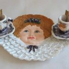 Tea Set Miniature Unique Angel 7 Pc.