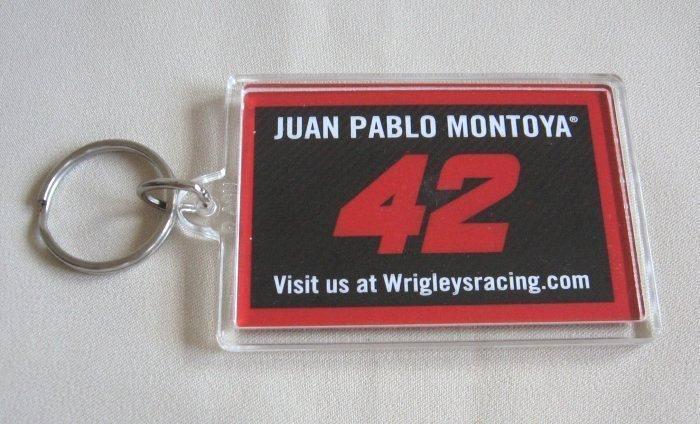 Keychain Nascar Juan Pablo Montoya #42 Big Red