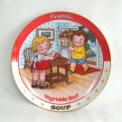 Campbell's Vegetable Beef Soup Collector's Plate 1994 The Danbury Mint