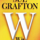Sue Grafton W is For Wasted Hardcover Book Large Print Edition