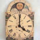 Decorative Celestial Wall Clock Made In England Battery Operated