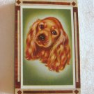 Vintage Cocker Spaniel Dog Playing Cards Beau Geste Arrco Pinochle