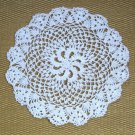 White Crocheted Doily Doilies Vintage Handmade 3 Available