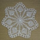Doilies Vintage Handmade Crocheted Beige Doily 2 Available