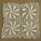 Handcrafted Vintage Crocheted Doily Cream Color 2 Available
