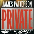 Private #1 Suspect James Patterson & Maxine Paetro Hardcover Book Large Print