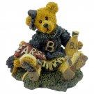 1995 Boyds Bears & Friends Figurine Bailey The Cheerleader Style No. 2268 Retired