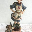 1999 Boyds Bears & Friends Figurine Supermom Domestica T. Whirlwind Retired