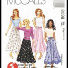 McCall's Sewing Pattern No. 8099 Misses One Hour Skirt Sizes 18 to 22