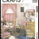 McCall's Sewing Pattern Crafts Kitchen Essentials Curtains Appliance Covers Seat Cushions Napkins