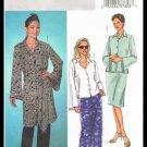 Womens Shirt Tunic Sash Skirt Pants Butterick Sewing Pattern #B4140 Sizes 12 14 16