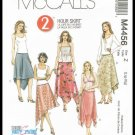Misses 2 Hour Skirts McCall's Sewing Pattern #M4456 Sizes Large X-Large 16 to 22