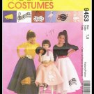 McCall's Costumes Sewing Pattern #9453 Childrens Circle Skirt & Petticoat Sizes 7-8