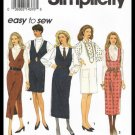 Simplicity Sewing Pattern 8546 Easy To Sew Misses Jumper Dress In Two Lengths Sizes P 12-16