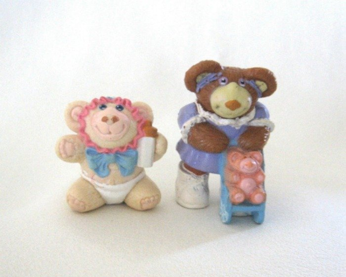 Furskins Collectible Toys Figurines Teddy Bears Vintage 1986