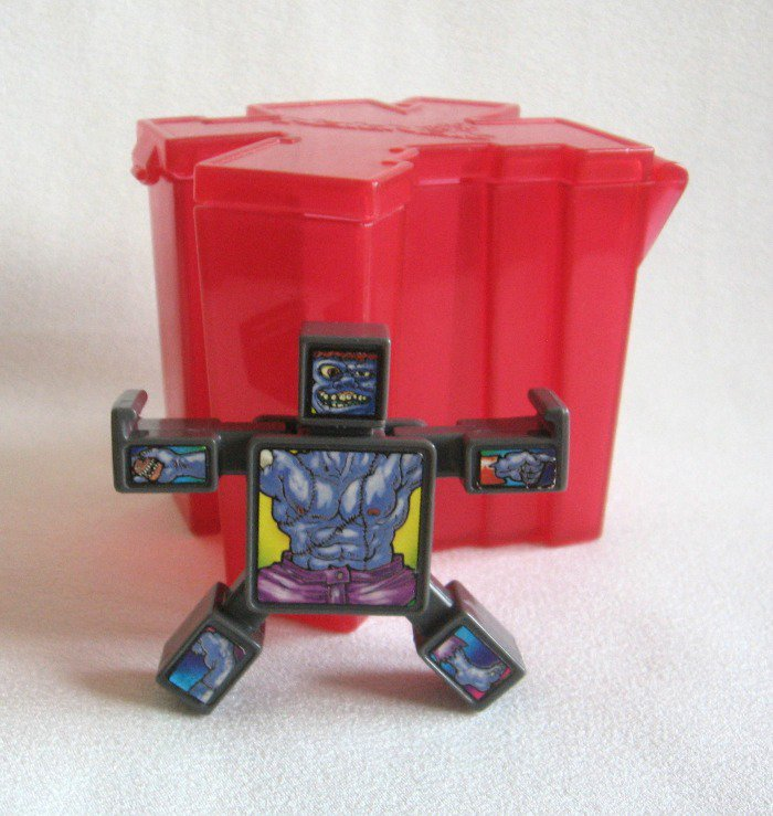 Hasbro Naknak Transformer Toy with Red Storage Case 2003